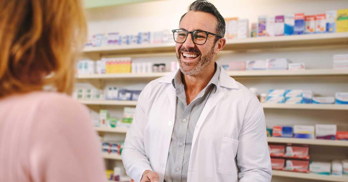 Laughing-pharmacist