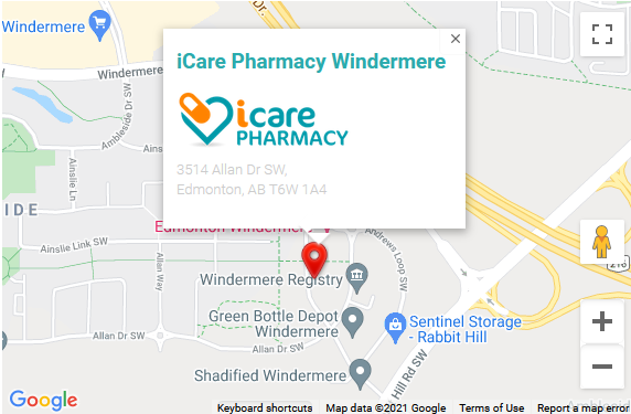 Windermere store map